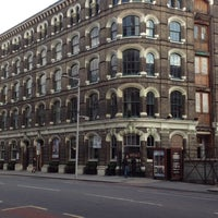 Photo taken at Menier Chocolate Factory by Katy on 9/1/2012