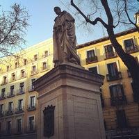 Photo taken at Plaza de Tirso de Molina by Pedro T. on 3/9/2012