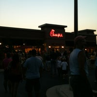 Photo taken at Chick-fil-A Orland Park by Rebekah M. on 8/2/2012