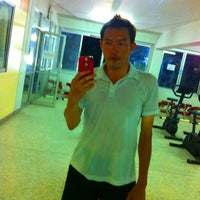 Photo taken at YaLa Fitness Center by Aun . on 4/20/2012