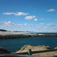 Photo taken at West Beach Pier by Jason C. on 6/8/2012