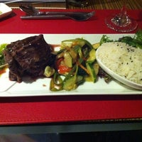Photo taken at Restaurant Rosso - Best Western by Jorge S. on 8/23/2012