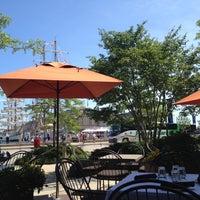 Photo taken at Mortons Steakhouse Seaport Boston by Kirsten on 6/30/2012