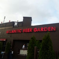 Photo taken at Atlantic Beer Garden by John C. on 6/16/2012