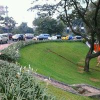 Photo taken at Jembatan Semanggi by Ferdi F. on 4/19/2012