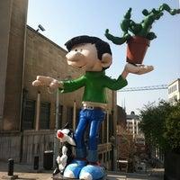 Photo taken at Belgian Comic Strip Center by Arik H. on 3/25/2012