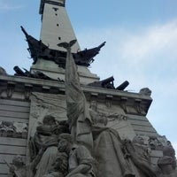 Photo taken at Soldiers & Sailors Monument by Keaton K. on 8/19/2012