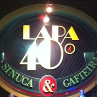 Photo taken at Lapa 40 Graus by Ronaldo S. on 3/17/2012
