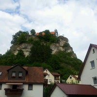 Photo taken at Burg Pottenstein by Georg v. on 6/7/2012