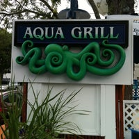Photo taken at Aqua Grill by Christopher C. on 7/8/2012