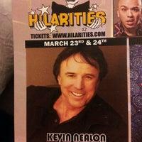 Photo taken at Hilarities 4th Street Theatre by Kim L. on 3/23/2012