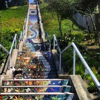 ... Photo Taken At Golden Gate Heights Mosaic Stairway By Nick O. On 4/18  ...