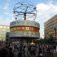 9/3/2012 tarihinde Sebastian K.ziyaretçi tarafından Weltzeituhr'de çekilen fotoğraf