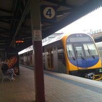 Photo taken at Central Station (Platforms 4 & 5) by Tengu T. on 4/18/2012