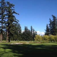 Photo taken at Bellingham Golf & Country Club by Dusty G. on 4/14/2012