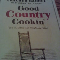 Photo taken at Cracker Barrel Old Country Store by Lauren A. on 4/22/2012