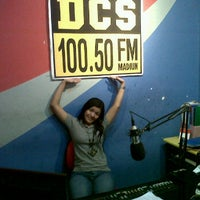 Photo taken at Radio DCS FM by Pephi N. on 3/9/2012
