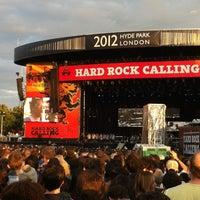 Photo taken at Hard Rock Calling by Finn K. on 7/16/2012