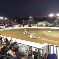 Photo taken at Costa Mesa Speedway by Francesca on 9/9/2012