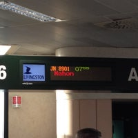 Photo taken at Gate A06 by Maurizio L. on 7/1/2012