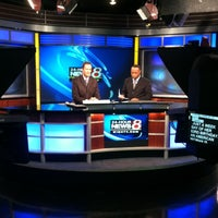 Photo taken at WISH-TV by Eileen on 8/19/2012