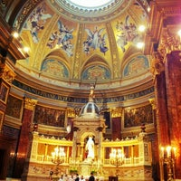 Photo taken at St. Stephen's Basilica by Fernando F. on 5/12/2012