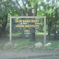 Photo taken at URJ Olin-Sang-Ruby Union Institute (OSRUI) by Bradley E. on 8/15/2012