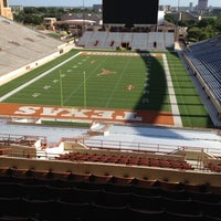 Photo taken at Joe Jamail Field by Alfred K. on 8/3/2012