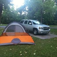 Photo taken at John James Audubon State Park by Kannan B. on 6/19/2012