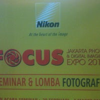 Photo taken at Focus : Jakarta Photo & Digital Imaging Expo by armaidy s. on 3/3/2012