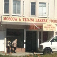 Photo taken at Moscow & Tbilisi Russian Bakery by Julie V. on 4/4/2012