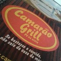 Photo taken at Camarão Grill by Felipe L. on 4/6/2012