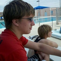 Photo taken at Rhodes Pool. Home Of The Flowrider. by Wade O. on 3/17/2012