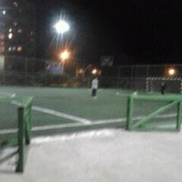 Photo taken at Complejo Deportivo Y Recreativo FCAB by Damian R. on 6/5/2012