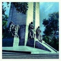 Photo taken at Monumento al General Alvaro Obregón by Ahmed-Edmundo C. on 8/14/2012