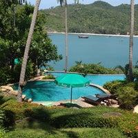 Photo taken at Panviman Resort Koh Phangan by Serena R. on 5/18/2012