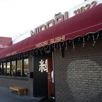 Photo taken at Midori Sushi by YUN K. on 2/24/2012