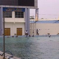 Photo taken at Aquatic Center Rumbai by ibam b. on 8/29/2012