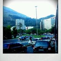 Photo taken at Avenida Epitácio Pessoa by Thati L. on 4/5/2012