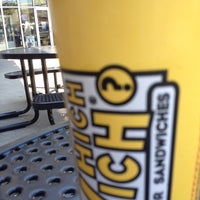 Photo taken at Which Wich? Superior Sandwiches by Patrick S. on 6/28/2012