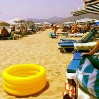 Foto scattata a Kleopatra Plajı da Alara A. il 6/28/2012