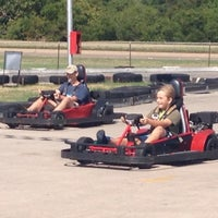 Photo taken at Rockwood Go-Karts by Pallita on 8/19/2012