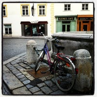 Photo taken at Kleines Café by Artemis on 6/4/2012