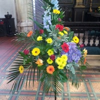 Photo taken at St Michael le Belfrey by Tim S. on 6/9/2012