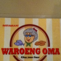 Photo taken at Waroeng Oma by Jessica H. on 7/8/2012