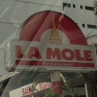 Photo taken at La Mole by Priscila N. on 3/24/2012