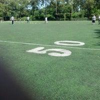 Photo taken at Kissena Park Softball Fields by Alec T. on 7/21/2012