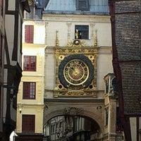 Photo prise au Gros Horloge par Alexandre B. le2/21/2012