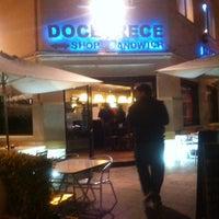 Photo taken at DoceTrece Schop & Sandwich by Nelson L. on 5/17/2012