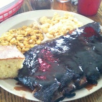 Photo taken at Sticky Lips BBQ Juke Joint by Shawn M. on 6/3/2012